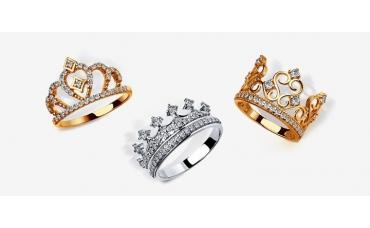 Украшения в виде короны