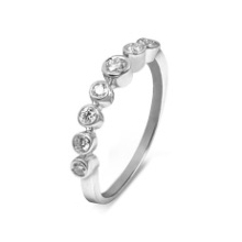 Кольцо из золота 750 пробы с бриллиантами,  ROURE