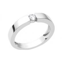 Кольцо из золота 750 пробы с бриллиантом,  ROURE