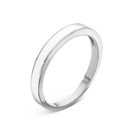 2307996Д Кольцо из серебра с эмалью, Красная Пресня