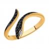 7010065 Кольцо из золота с бриллиантами Sokolov