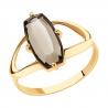 715802 Кольцо из золота с раухтопазом SOKOLOV