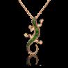 "Подвеска из золота Ящерица"" арт.  03-3208-00-723-1110-57, ПЛАТИНА КОСТРОМА"