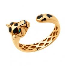 3010579 Кольцо из золота с изумрудом SOKOLOV
