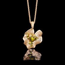 """Подвеска """"Лягушка"""" из золота с эмалью арт. 03-2582-00-000-1110-65, Платина"""