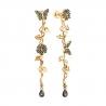 1021809 - Серьги из золота с бриллиантами SOKOLOV