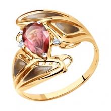 6019026 Кольцо из золота с эмалью - SOKOLOV