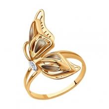6019024 Кольцо из золота с эмалью - SOKOLOV