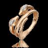 Кольцо из золота с бриллиантом - PLATINA