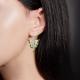 Серьги из серебра с эмалью - PLATINA Jewelry