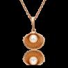 Подвеска из золота с жемчугом - PLATINA Jewelry