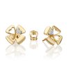 Серьги из золота с бриллиантом - PLATINA  Jewelry