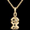 Подвеска из золота с бриллиантом - PLATINA  Jewelry