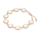 Браслет из золота с бивнем мамонта - PLATINA  Jewelry