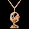 Подвеска из золота PLATINA Jewelry - Пантера