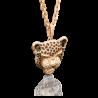 Подвеска из золота с эмалью PLATINA Jewelry - Пантера