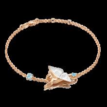 """Браслет из золота с топазом PLATINA Jewelry """"Постижение тайн"""" арт. 05-0711-00-201-1111"""