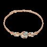 """Браслет из золота с топазом PLATINA Jewelry """"Загадочность"""" арт. 05-0712-00-201-1111"""