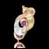"Брошь из золота с гранатом PLATINA Jewelry - ""Кобра"""
